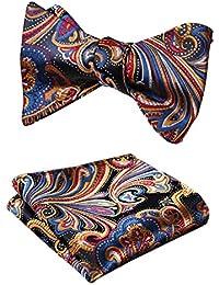 Herren Breite 8cm Jacquard Krawatte Paisley Flower Schlips Hochzeit Krawatten