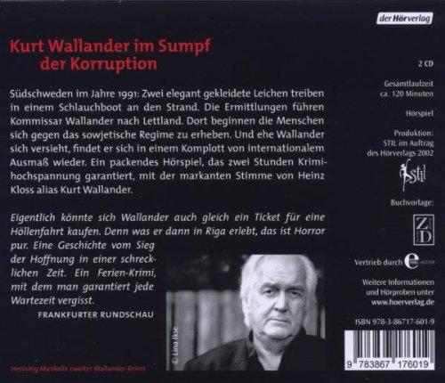 Hunde von Riga (Der Kurt Wallander-Kosmos: Die Kriminalromane, Band 7): Alle Infos bei Amazon