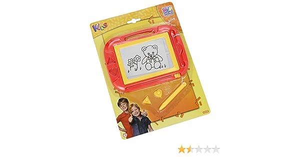 Zaubertafel mit Stift und 2 Magnetstempeln Mal- & Zeichenmaterialien für Kinder Happy People 63329 Bastel- & Kreativ-Bedarf für Kinder