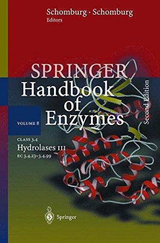 Class 3.4 Hydrolases III: EC 3.4.23 - 3.4.99 (Springer Handbook of Enzymes, Band 8)