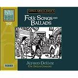 Alfred Deller: Intégrale des enregistrements Vanguard - Volume 1: Chants populaires et Ballades