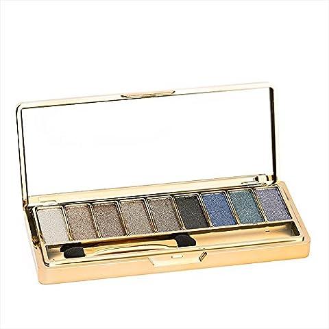 Contever® 9 COLOR Paleta de sombras de ojos Profesional Cosmético de maquillaje in set #5