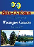 Bike-O-Vision - Virtual Cycling Adventure - Washington Cascades - Perfect for Indoor Cycling and Treadmill Workouts - Cardio Fitness Scenery Video (Fullscreen DVD #21) by none...