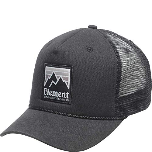Element Peak Trucker Cap - Off Black - One Size