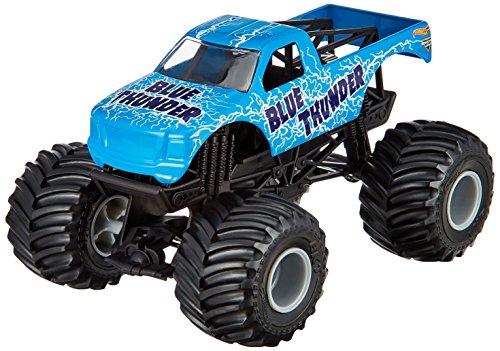 Mattel Hot Wheels BGH36 Metal vehículo de Juguete - Vehículos de Juguete, Camión, Metal, Monster Jam, Blue Thunder, 3 año(s)