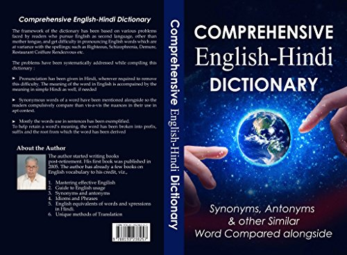Comprehensive English Hindi Dictionary Synonyms Antonyms Other