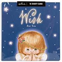 Hallmark Christmas Charity Multipack Cards 'Cute Angel' - Pack of 10