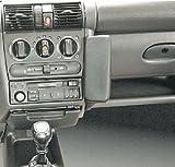 Haweko Telefonkonsole Opel Tigra, Bj. 94-, Opel Corsa B, Bj. 93-00 Leder, Schwar