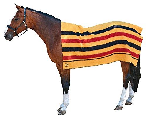 Amesbichler Pferdedecke Ausreitdecke Abschwitzdecke aus reiner Wolle 160x180cm