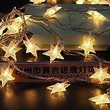 #6: The Purple Tree Decorative Star String LED Lights for Diwali Christmas Wedding - 3 Meter (1 pc) Diwali Lights, Decorative Lights, Diwali Lights for Window, Festive Lights, led Lights