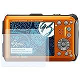 Bruni Schutzfolie für Panasonic Lumix DMC-FT3 Folie - 2 x glasklare Displayschutzfolie