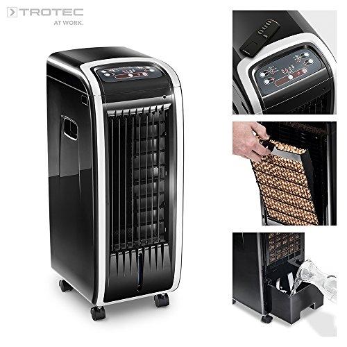 Trotec Aircooler/–Climatizador portátil PAE 203en 1–Dispositivo: Aire enfriador, ventilador, humidificador, y ambientador...