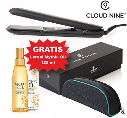 Cloud Nine The TOUCH Iron Glätteisen Haarglätter & Loreal Mythic Oil