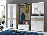 Garderobe Flurgarderobe komplett Garderobe Garderobenset Diele Möbel