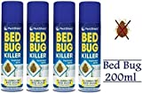 (4pezzi)–Bed Bug Killer spray 200ml–by Pajee TM