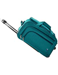 Novex Solo 50 Cms 2 Wheel Turquoise Duffle Trolley Bag