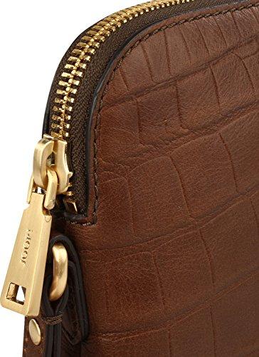 Joop Damen Croco Soft Daphne Shoulderbag Svz Schultertasche, 3x23x20 cm 900 black