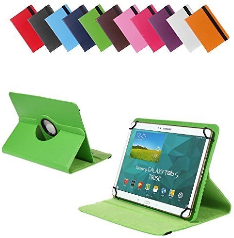 BRALEXX Universal Tablet PC Tasche passend für One Xcellent 10 T10 E1 (881140)  10 Zoll  Grün