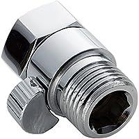 Válvula de cierre del cabezal de ducha, con interruptor corto Pieza de repuesto universal, válvula de control del flujo de la ducha Controlador reductor de la presión del agua Cierre manual de la fuen