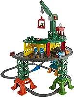 Ora puoi veramente mettere in moto l'amicizia ed immaginare tantissime avventure con tutti i trenini della linea Adventures, TrackMaster, MINI e Wooden. E tutti nella stessa mega pista. Questo circuito su 3 livelli include Thomas, Percy, Jame...