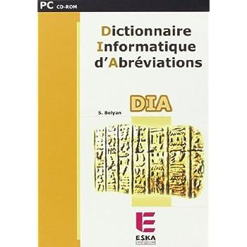 CD ROM Dict. Informatique d'Abreviations