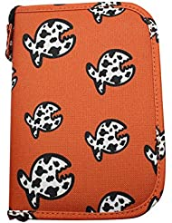 iQ-Company 434401Allover Fish Siren Cuaderno de bitácora, Naranja, XS