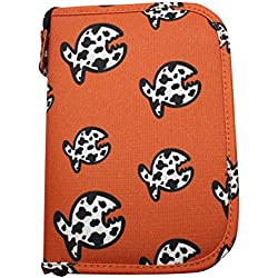iQ-Company Allover Fish LOGBOOK Siren Journal, Orange, XS