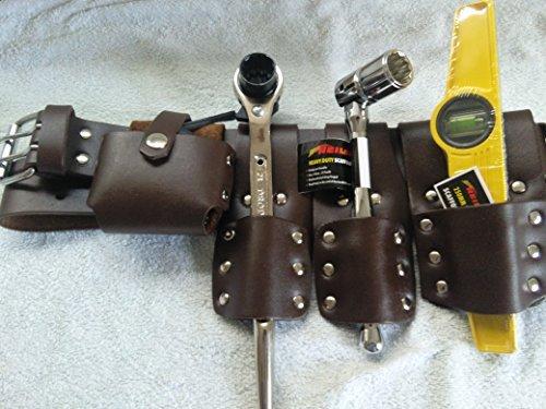Scaffolding 5 strumenti per cintura, in pelle, con...