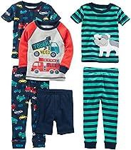 Simple Joys by Carter's Niños pijama de satén, Pack