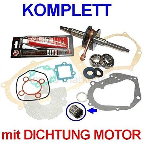 Unbranded KURBELWELLE Lager Dichtung Satz KIT Set für KTM ARK 50 Roller MINARELLI LIEGEND Zylinderkit