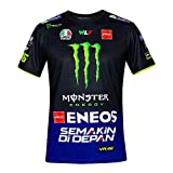 Valentino Rossi Replica-Yamaha Dual-Racing, T-Shirt Uomo, Royal Blue, L