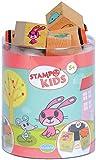 Unbekannt Aladine 3003305 - Stampo Kids Lieblingstiere, 16-teilig