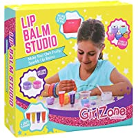 GirlZone GIFTS FOR GIRLS: Make Your Own Lip Balm Kit With This 22 Piece Makeup Set For Girls. Best Birthday Present Gift For Girls Age 8 9 10 11+ Years Old.