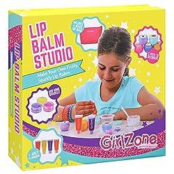 Lippenstift & Lip Gloss selber machen!>Habe Spaß und kreiere deinen eigenen Lippenbalsam, mit diesem GirlZone Kosmetik Set das alles enthält, was du für die Gestaltung und Erstellung deines eigenen Lippenbalsams brauchst.Dekoriere deine eigene...
