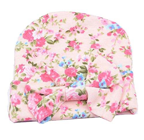 Covermason Neugeborene Baby Kinder Hüte Mit Blume bowknot Blume (Cowboy Hut Neugeborene)