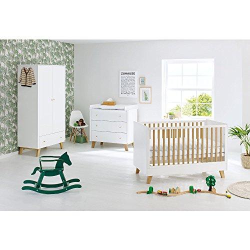 Preisvergleich Produktbild Pinolino 103420B Kinderzimmer 'Pan' breit, weiß