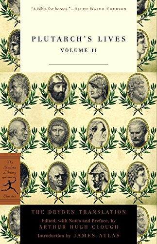 Mod Lib Plutarch's Lives Vol Ii: v. 2 (Modern Library)