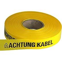 "250 m Länge Trassenwarnband /""Achtung Rohrleitung/"" Folie"