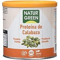 NaturGreen Concentrado de Proteína ecológica de Calabaza al 55% en Polvo -Pack de 2 unidades de 250 gr