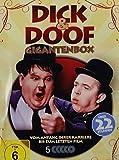 Laurel und Hardy DICK & DOOF - GIGANTENBOX Vom Anfang ihrer Karriere bis zum letzten Film 22 STUNDEN / 5 DVD Metallbox