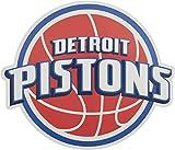 Applied Icon, NBA Detroit Kolben Outdoor Groß Primary Aufkleber
