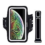 EOTW Sportarmband Handyhülle Kompatibel mit iPhone X MAX, Handyhalter Arm Sport für Joggen Laufen Schwarz