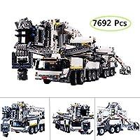 Yavso Liebherr Crane Truck Building Set for Adult, 7692pcs , STEM Construction Education Toy - Hardest Building Kit