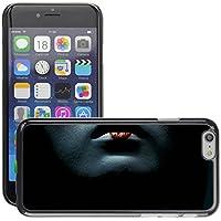 Premium Slim Polycarbonate Aluminium Cassa del telefono Custodia Case Bandiera Cover Armor // M00047999 lips geisha aero black // Apple iPhone 6 PLUS 5.5 - Aero Lip