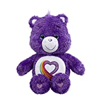 "Care Bear  Rainbow Heart ""35th Anniversary"" Plush Toy"