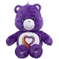 Care Bear Rainbow Heart 35th Anniversary - Peluche de Oso Amoroso