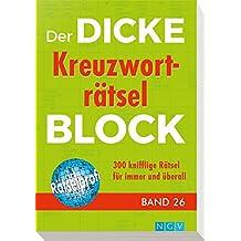 Der dicke Kreuzworträtsel-Block Band 26