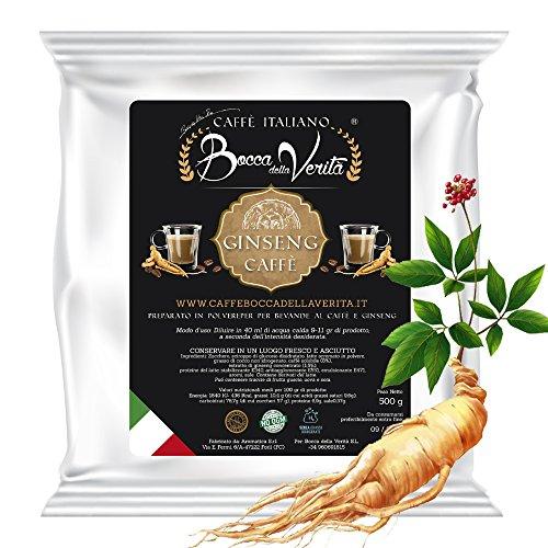 Ginseng Italienischer Kaffee Bocca della Verità 500 g löslich