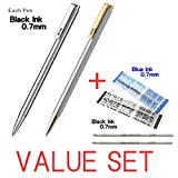 Die besten Zebra Ink Pens - Zebra Mini Kugelschreiber/0,73schwarze Tinte/T (Silber Körper) & T Bewertungen