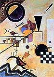 1art1 35635 Wassily Kandinsky - Contrasting Sounds Poster Kunstdruck 90 x 60 cm